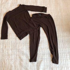 Kickee Pants PJ set